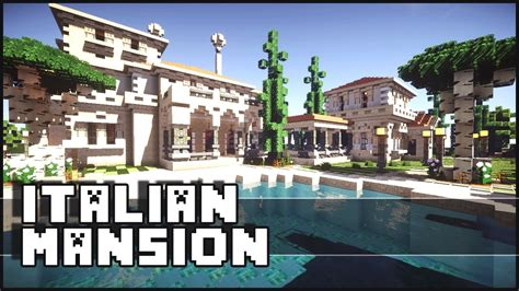 Minecraft House Inspiration by Minecraft Italian Mansion Youtube