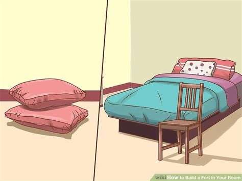 how to make a fort in a bedroom 4 ways to build a fort in your room wikihow