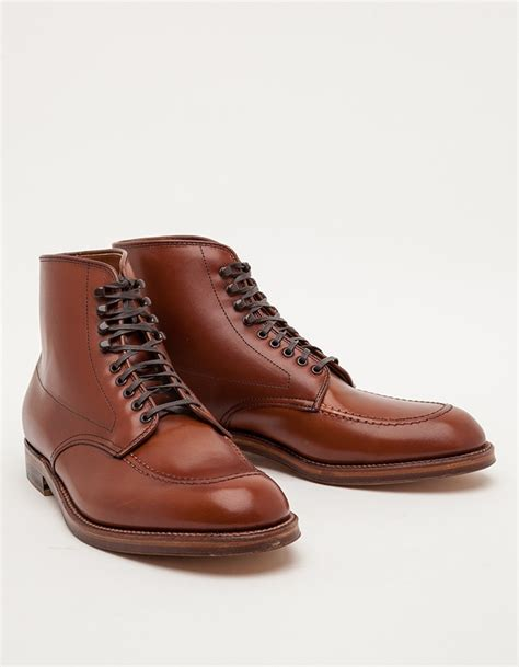 alden indy boot alden church hill indy boot in brown for lyst