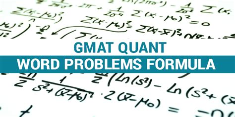 Word Problems Mba by Gmat Quant Word Problems Formula List Byju S Gmat Free Prep