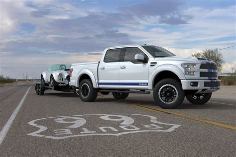 shelby truck specs shelby brings the blue thunder to sema with 700hp f 150