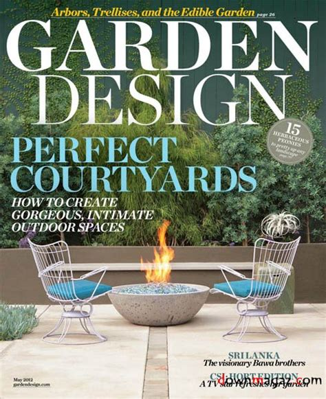 Garden Decor Magazine Garden Design May 2012 187 Pdf Magazines