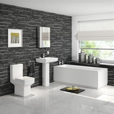 designer bathroom suites uk 1700mm belfort straight bath suite