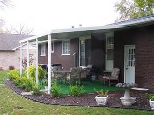 Aluminum Patio Roofs by Standard Aluminum Patio Cover Photo Gallery