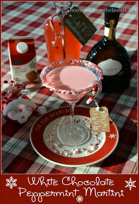 christmas cocktails cd white chocolate peppermint martini http