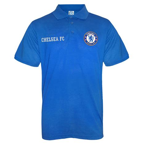 Polo Chelsea C 111 M chelsea fc official football gift mens crest polo shirt ebay