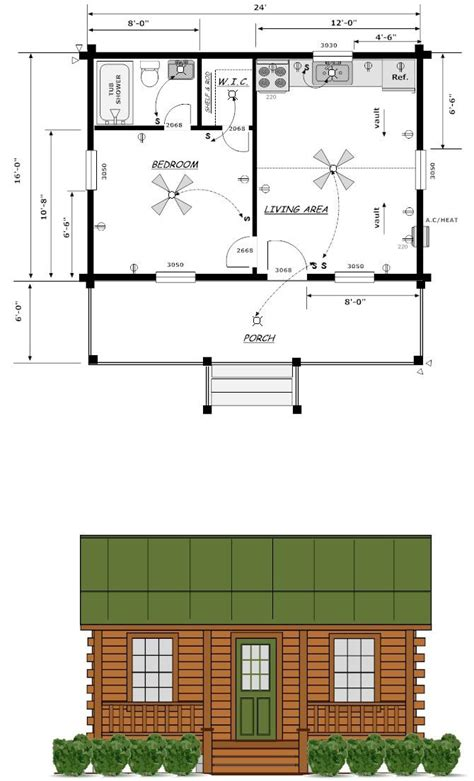 gambrel cabin plans 16x24 house plans louisiana cabin co finished exterior