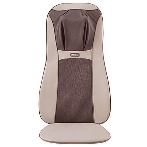 homedics chair pad with heat homedics 174 shiatsu elite cushion with heat bed