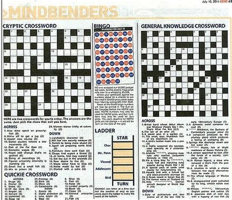 swing around crossword news of the world crossword takes aim at rebekah brooks
