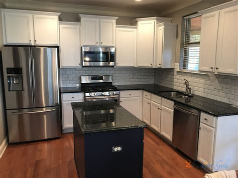 royal kitchen cabinets kitchen cabinet and island painted custom white and blue