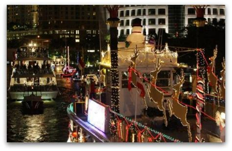 ft lauderdale boat parade 2017 2017 christmas events in miami