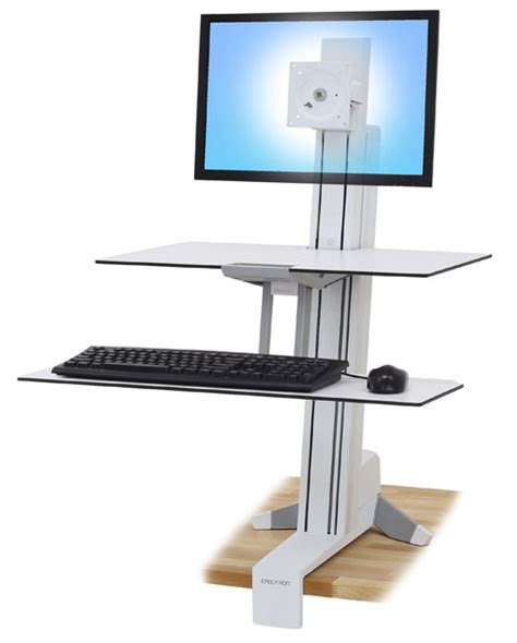 ergotron 33 350 211 workfit s adjustable standing desk