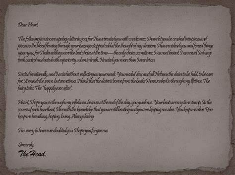 Apology Letter 4 My An Apology Letter By Honest Hart On Deviantart