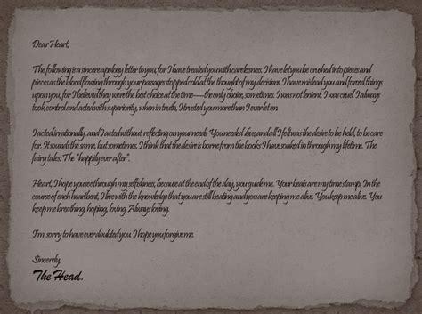 Apology Letter Reddit An Apology Letter By Honest Hart On Deviantart