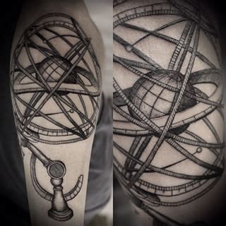 sphere tattoo designs armillary sphere search