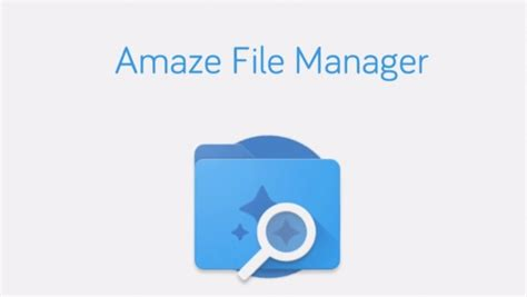 mobile file manager amaze file manager android applicazione open source di