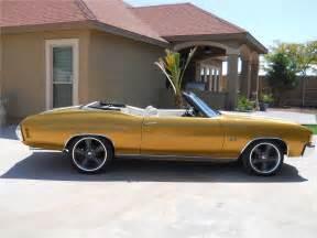 1972 chevrolet chevelle malibu convertible 133553