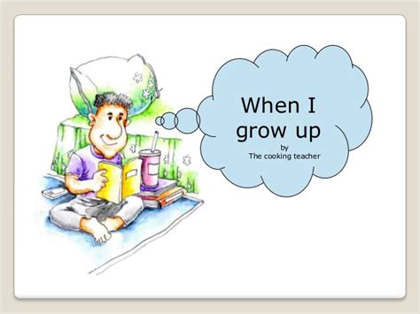 What I Want To Be When I Grow Up Essay by When I Grow Up I Want To Be