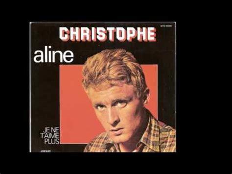 aline christophe christophe aline 1965 youtube