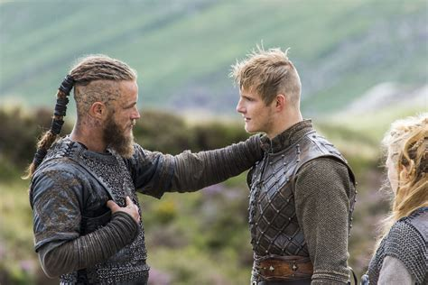 the vikings the show braids vikings quot eye for an eye quot 2x04 promotional picture