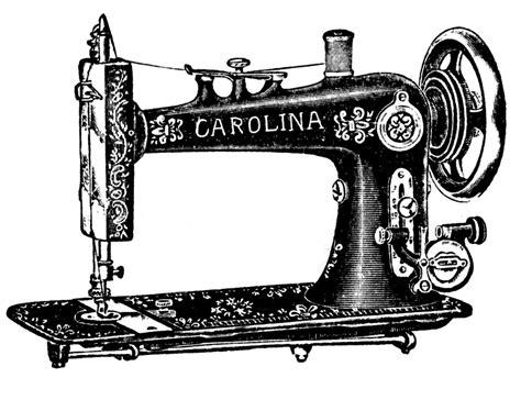 retro sewing machine table vintage clip antique sewing machine table