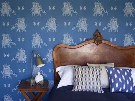 elephant bedroom c a fun and flamboyant wallpaper design featuring a repeated