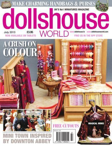 dolls house world magazine dolls house world magazine dollshouse world issue 250 subscriptions pocketmags