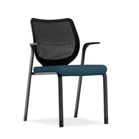hon nucleus guest chair arms glides atwork office