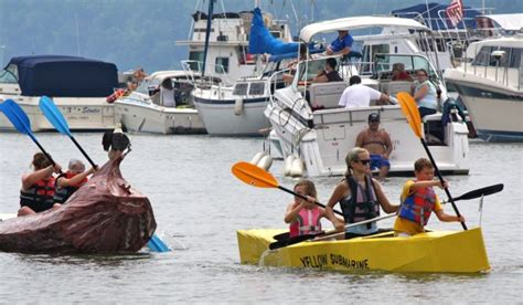cardboard boat regatta new richmond ohio 365 things to do in cincinnati visits new richmond s