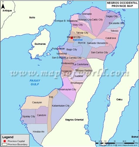 Negros Occidental Map | negros occidental map missionary pinterest