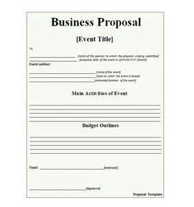 30 business proposal templates amp proposal letter samples
