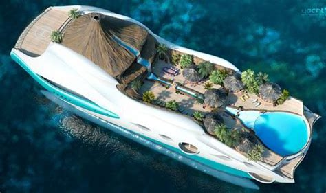 yacht island design is this the most amazing yacht ever tropical paradise on