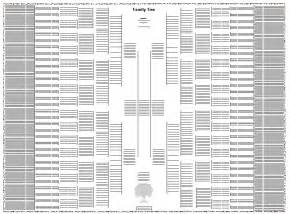 10 generation family tree template 5 best images of 8 generation ancestor chart free