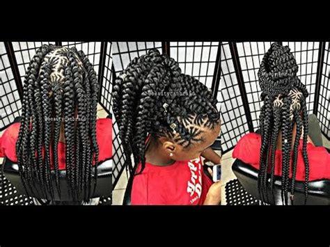 diy spider web jumbo box braids black hair 136 spider jumbo braids