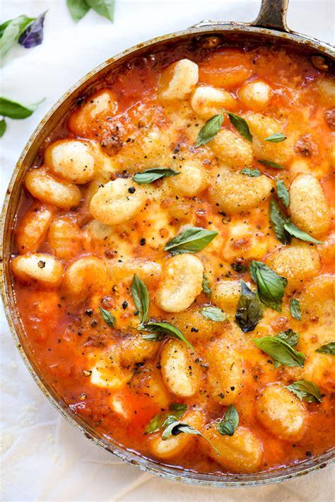 best gnocchi sauce gnocchi with pomodoro sauce foodiecrush