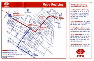 Metro Redline Map by Metro Red Line Map 1993 Striderv Flickr