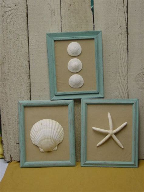 bathroom decor picture frames sea shells beaches and beach toys on pinterest
