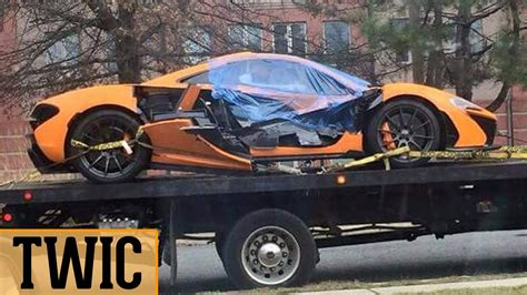 mclaren p1 crash test orange mclaren p1 crash twic 11 youtube