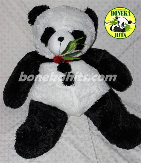 Boneka Panda Jumbo 80cm jual boneka panda jumbo boneka hits shop