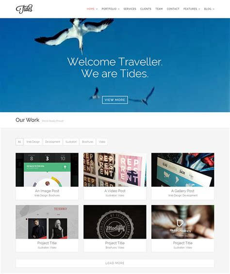 theme wordpress xone 23 portfolio wordpress themes with engaging video