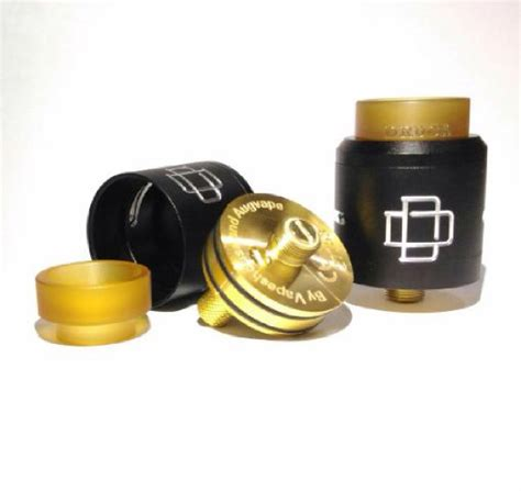 Murah Druga Rda Black 100 Authentic By Augvape Atomizer Vapor Vape jual beli druga rda authentic black by augvape design