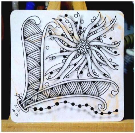 zentangle pattern sez 禪繞圖樣 015 squid shattuck beadlines 1 my zentangle 禪繞圖樣 so