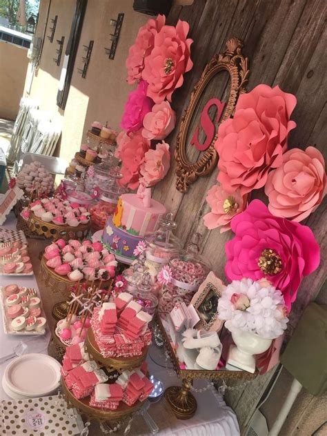 Floral Themed Baby Shower by Floral Baby Shower Baby Shower Ideas Floral Baby