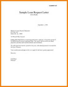 Cover Letter For Bank Loan by Sle Letter Of Request For Bank Loan Cover Letter
