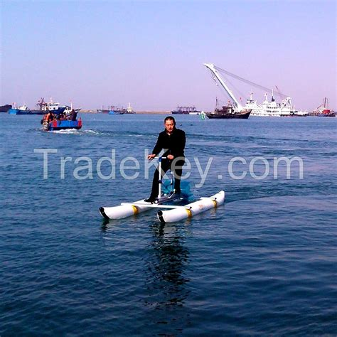 inflatable pontoon pedal boat water bicycle water bike sea bicycle sea bike pontoon