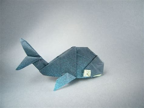 Whale Origami - 25 unique origami animals ideas on origami