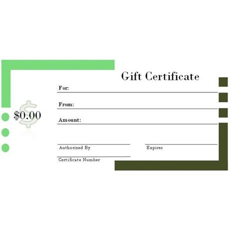gift certificate template free 6 free printable gift certificate templates for ms publisher