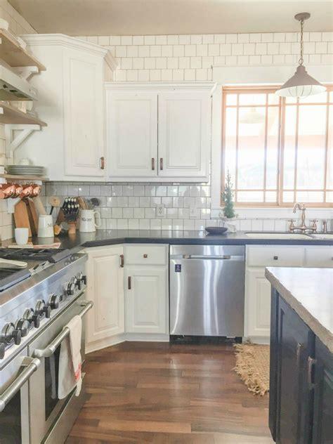 reader redesign farmhouse kitchen farmhouse kitchens kitchens diy farmhouse kitchen remodel the home depot blog