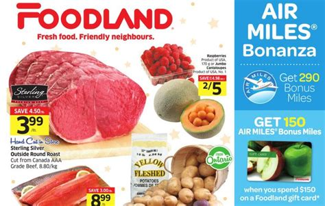 Foodland Gift Card - foodland ontario deals get 150 air miles with 150 gift card purchase canadian