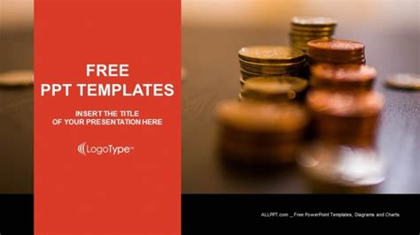 Coins On The Table Powerpoint Templates Powerpoint Challenge Coin Template